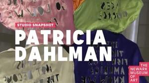 Studio Snapshot: Patricia Dahlman